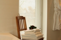 Badkamer met handdoeken set